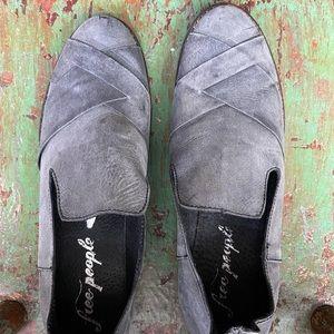 Free People Slip On Loafers